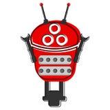 Skizze eines netten Roboters Stockbild
