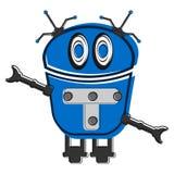 Skizze eines netten Roboters Lizenzfreies Stockbild