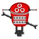 Skizze eines netten Roboters Stockbilder