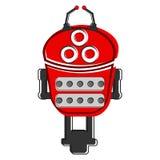 Skizze eines netten Roboters Lizenzfreie Stockbilder