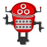 Skizze eines netten Roboters Lizenzfreie Stockfotografie