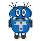 Skizze eines netten Roboters Lizenzfreie Stockfotos