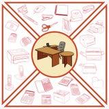 Skizze von Geschäftsprozessen Lizenzfreie Stockbilder