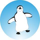 Skizzenillustration des Pinguins vektor abbildung