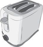Skizzierter Toaster Stockfoto