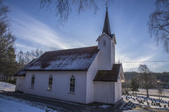 Skjeberg-Valley Church (north-west) Stock Image