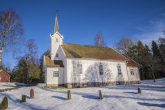 Skjeberg-Valley Church (south) Royalty Free Stock Image