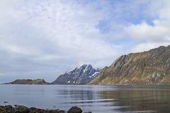 Skjelfjorden fotografia stock