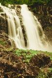 Skjervsfossen vattenfall - Norge Arkivfoton