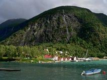 Skjolden-Lusterfjorden Royalty Free Stock Photography