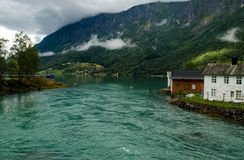 Skjolden, Norway Royalty Free Stock Images