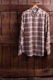 Skjorta av cowboyen Arkivfoton