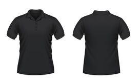 skjorta för manpolo s stock illustrationer