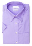 Skjorta mäns skjorta på en bakgrund Royaltyfri Foto