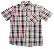 Skjorta ungeskjorta på bakgrund. Royaltyfri Foto