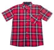 Skjorta ungeskjorta på bakgrund. Royaltyfria Bilder