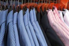 skjortor Fotografering för Bildbyråer