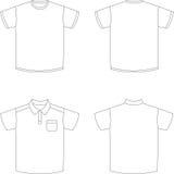 skjortor t Arkivbild