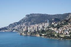 Skjul d'Azur-Menton-Frankrike Arkivfoto