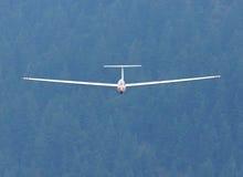 Skjuta i höjden den Sailplane glidflygplanet Arkivbild