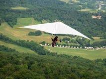 Skjuta i höjden med vinden Fotografering för Bildbyråer