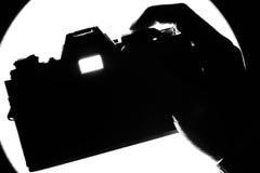 Skjuta lampan Arkivfoto
