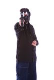 skjuta terrorist 2 royaltyfri bild