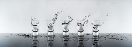 skjuten alkohol Fotografering för Bildbyråer