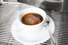skjuten espresso Royaltyfri Bild