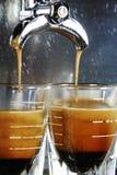 skjuten espresso Fotografering för Bildbyråer