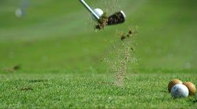 skjuten golf Fotografering för Bildbyråer
