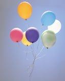 skjuten studio för ballong färgrik deltagare arkivfoto