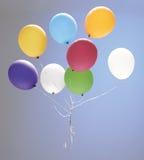 skjuten studio för ballong färgrik deltagare royaltyfria foton