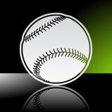 skjuten studio för boll baseball Royaltyfria Foton