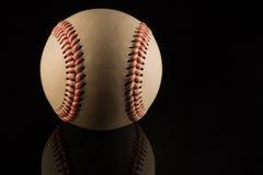 skjuten studio för boll baseball Arkivfoto