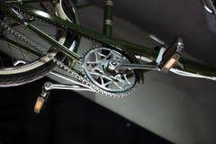 skjuten studio för cykel detalj arkivfoto