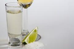 skjuten tequila arkivbilder