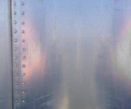 skjuten textur för aluminium close upp Arkivbilder