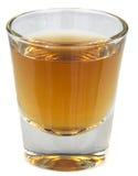 skjuten whiskey Arkivfoton