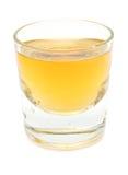 skjuten whiskey Arkivfoto
