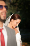 Skjutit bröllop Arkivbilder