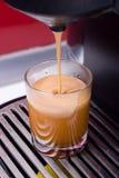 skjutit varmt för kaffe Royaltyfria Foton