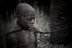 Sklave Stockbild