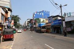 Sklaven-Island-Bezirk von Colombo in Sri Lanka Lizenzfreie Stockbilder