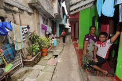 Sklaven-Island-Bezirk von Colombo in Sri Lanka Lizenzfreies Stockbild