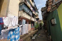 Sklaven-Island-Bezirk von Colombo in Sri Lanka Stockbild