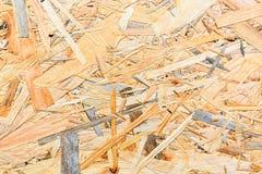 Sklejkowa tekstura Osb drewna deska dla tło dekoraci zdjęcia stock