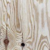Sklejkowa tekstura z gnarl i naturalny drewno wzór Zdjęcia Stock