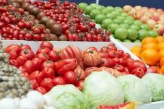 sklepów spożywczy supermarketa warzywa Obrazy Stock