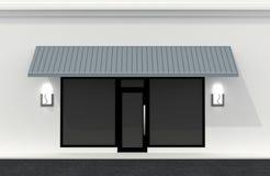 sklep frontowa ściana Obraz Royalty Free